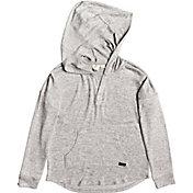 Roxy Girls' Burning Sun Hooded Long Sleeve Shirt