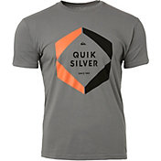 Quiksilver Men's Hexa Logo Short Sleeve T-Shirt