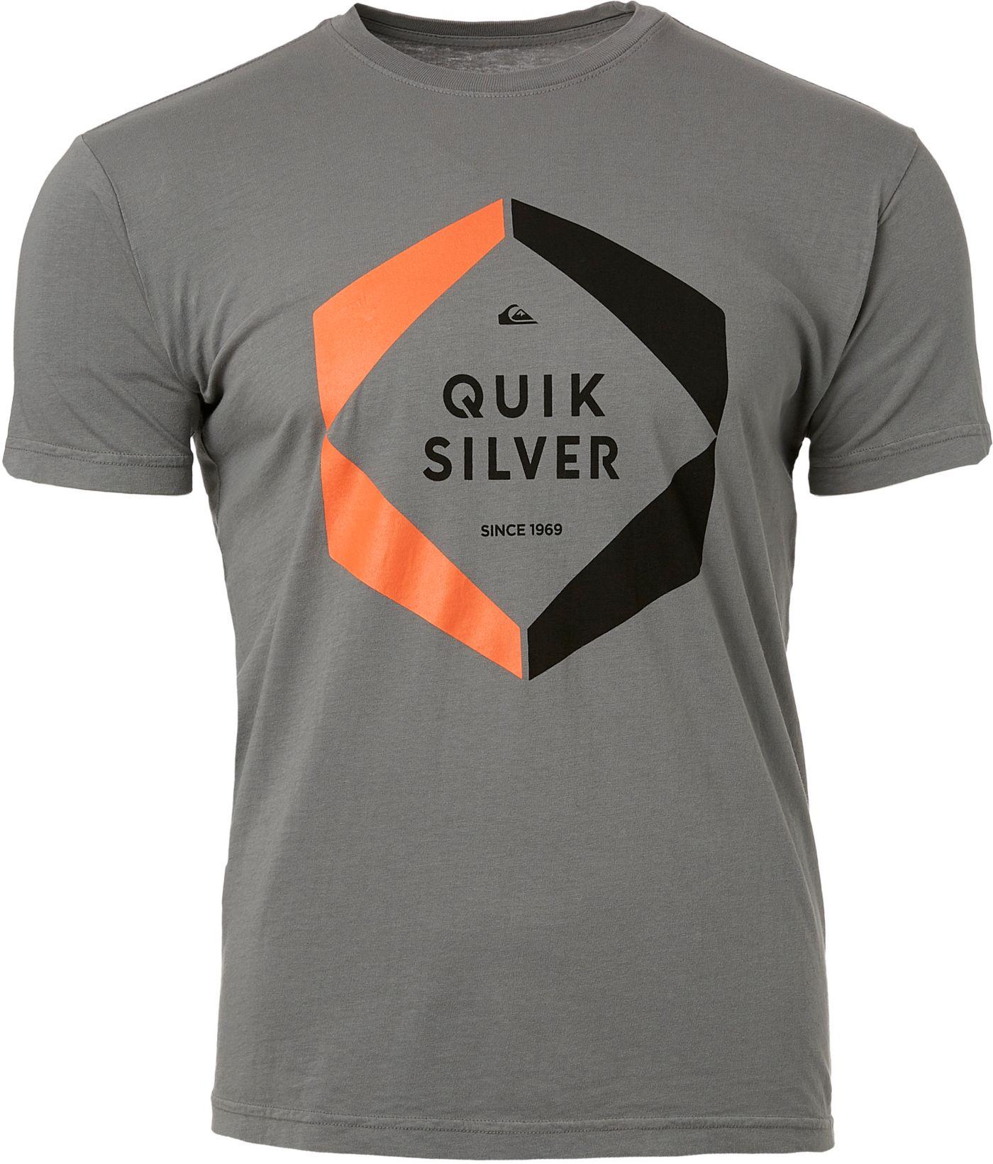 Quiksilver Men's Hexa Logo Short Sleeve T-Shirt