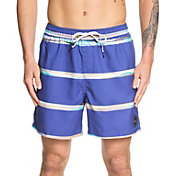 Quiksilver Men's Dunes Stripes Volley Board Shorts