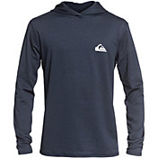 Quiksilver Men's Dredge Hooded Long Sleeve Rash Guard (Regular and Big & Tall)