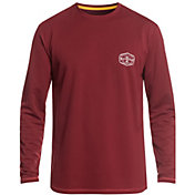 Quiksilver Men's Waterman Gut Check Long Sleeve Rash Guard (Regular and Big & Tall)