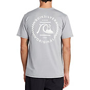 Quiksilver Men's Higher Ground Short Sleeve Rash Guard