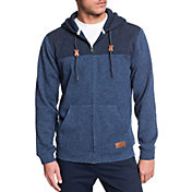 Quiksilver Keller Block Fleece Lined Full Zip Hoodie