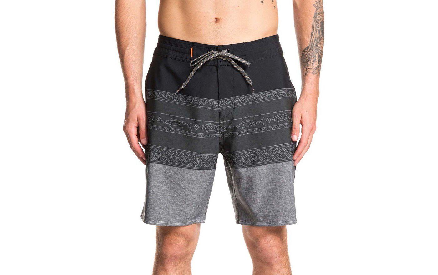 Quiksilver Men's Waterman Liberty Triblock Board Shorts (Regular and Big & Tall)
