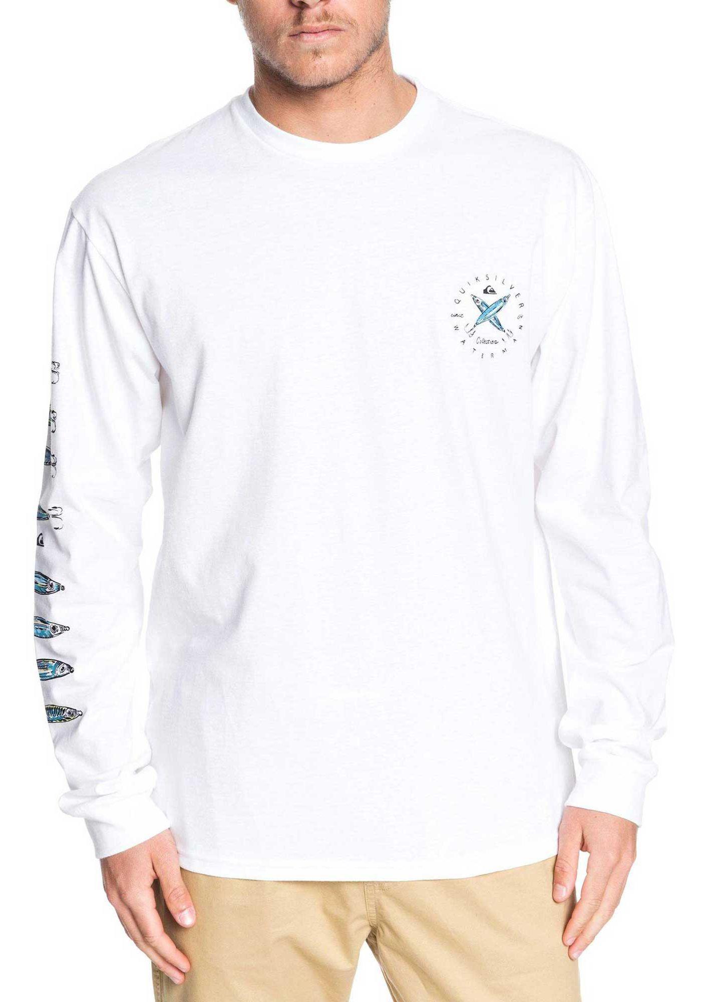 Quiksilver Men's Lure Me In Long Sleeve T-Shirt
