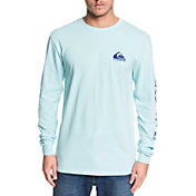 Quiksilver Men's Omni Logo Long Sleeve Shirt