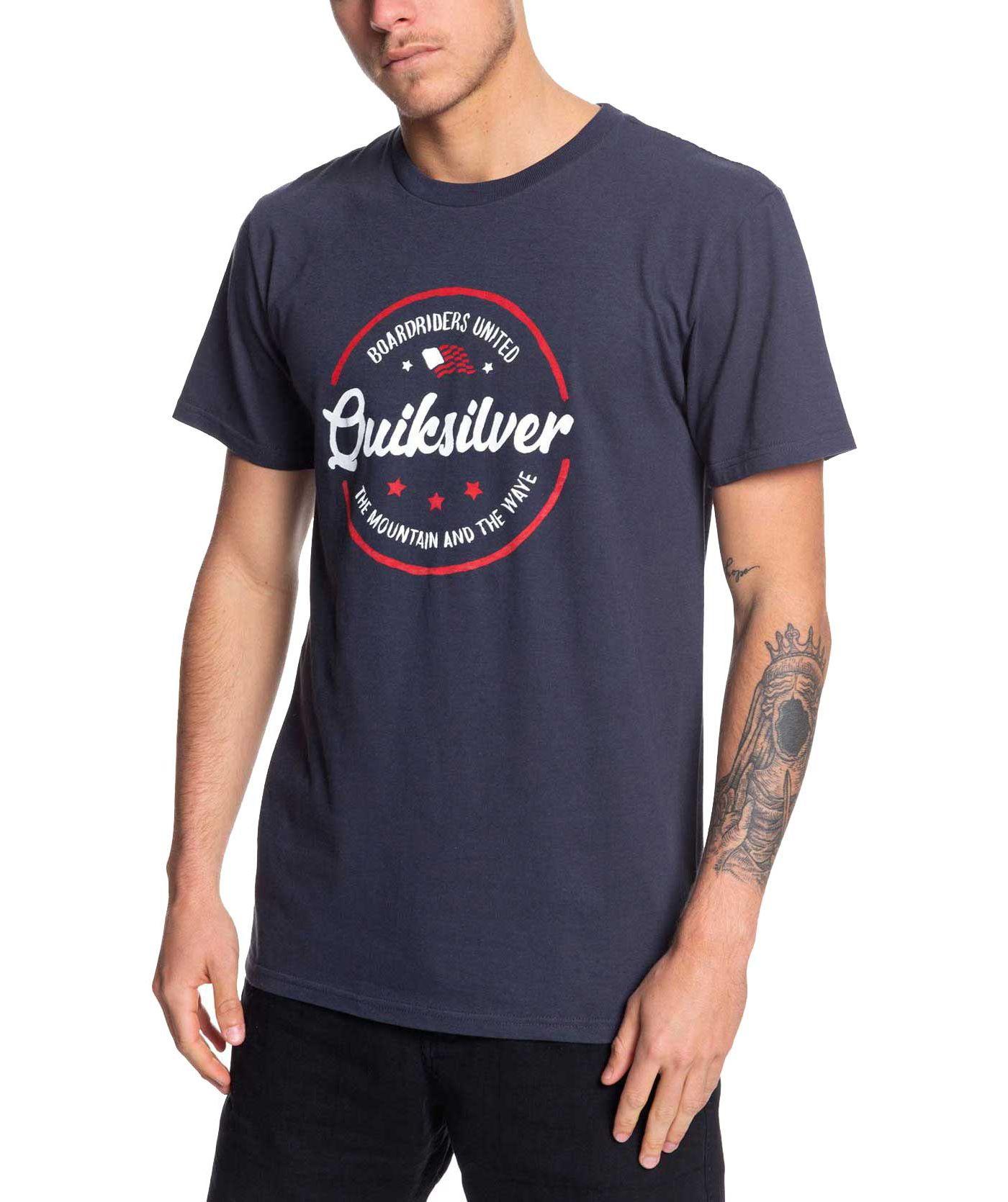 Quiksilver Men's Mental Notes USA T-Shirt
