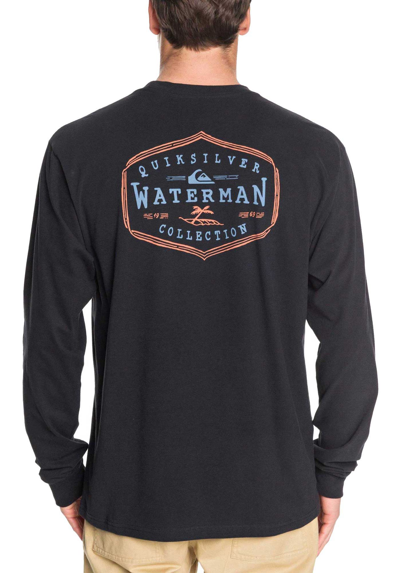 Quiksilver Men's Anchored Mission Long Sleeve T-Shirt