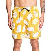 Quiksilver Men's Waterman Pineapple Web Volley Board Shorts