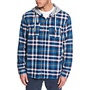 Quiksilver Men's Snap Up Long Sleeve Flannel Shirt