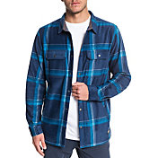 Quiksilver Men's Surf Days Long Sleeve Button Down Fleece