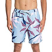 Quiksilver Men's Waterman Gully Floral Volley Board Shorts