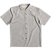 Quiksilver Men's Waterman Kelpies BayShort Sleeve Shirt