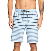Quiksilver Men's Waterman Suva Stripe Amphibian Board Shorts