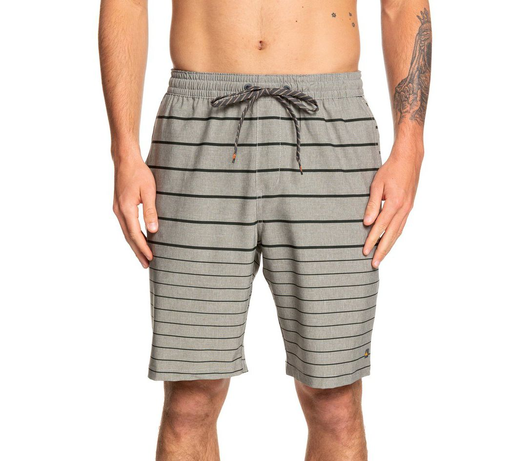 23c78d952c Quiksilver Men's Waterman Suva Stripe Amphibian Board Shorts ...
