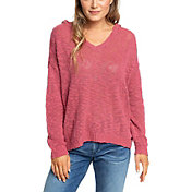 Roxy Women's Sandy Bay Beach Knitted Hooded Poncho