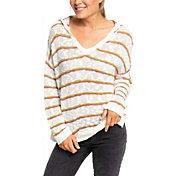 Roxy Women's Sandy Bay Hood Poncho Sweater