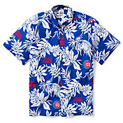 Reyn Spooner Men's Chicago Cubs Aloha Button-Down Shirt