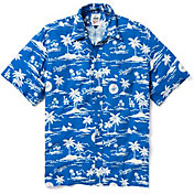 Reyn Spooner Men's Los Angeles Dodgers Vintage Rayon Button-Down Shirt