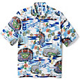 Reyn Spooner Men's Los Angeles Dodgers Scenic Button-Down Shirt