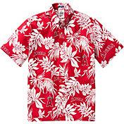 Reyn Spooner Men's Los Angeles Angels Red Aloha Button-Down Shirt