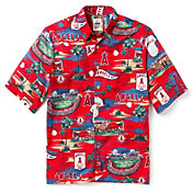 Reyn Spooner Men's Los Angeles Angels Scenic Button-Down Shirt