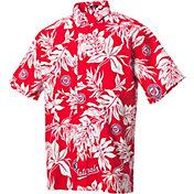 Reyn Spooner Men's Washington Nationals Red Aloha Button-Down Shirt