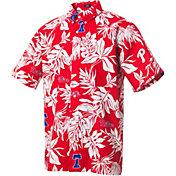 Reyn Spooner Men's Philadelphia Phillies Red Aloha Button-Down Shirt