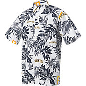 Reyn Spooner Men's Pittsburgh Pirates White Aloha Button-Down Shirt