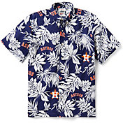 Reyn Spooner Men's Houston Astros Aloha Button-Down Shirt