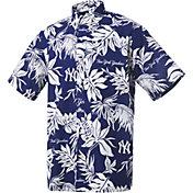 Reyn Spooner Men's New York Yankees Navy Aloha Button-Down Shirt
