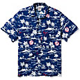 Reyn Spooner Men's New York Yankees Vintage Rayon Button-Down Shirt