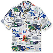 Reyn Spooner Men's New York Yankees Scenic Button-Down Shirt