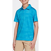 DSG Boys' Camo Print Textured Golf Polo