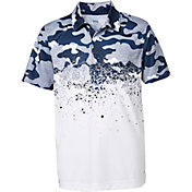 DSG Boys' Faded Camo Golf Polo
