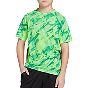 DSG Boys' Printed Training T-Shirt