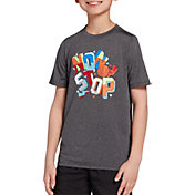 DSG Boys' Graphic Training T-Shirt in DHG/Nonstop