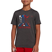 DSG Boys' Graphic Training T-Shirt in Dhg Heavy Hitter
