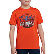 DSG Boys' Graphic Training T-Shirt in Flame Double Dribble