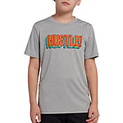 DSG Boys' Graphic Training T-Shirt in Mhg Hustle