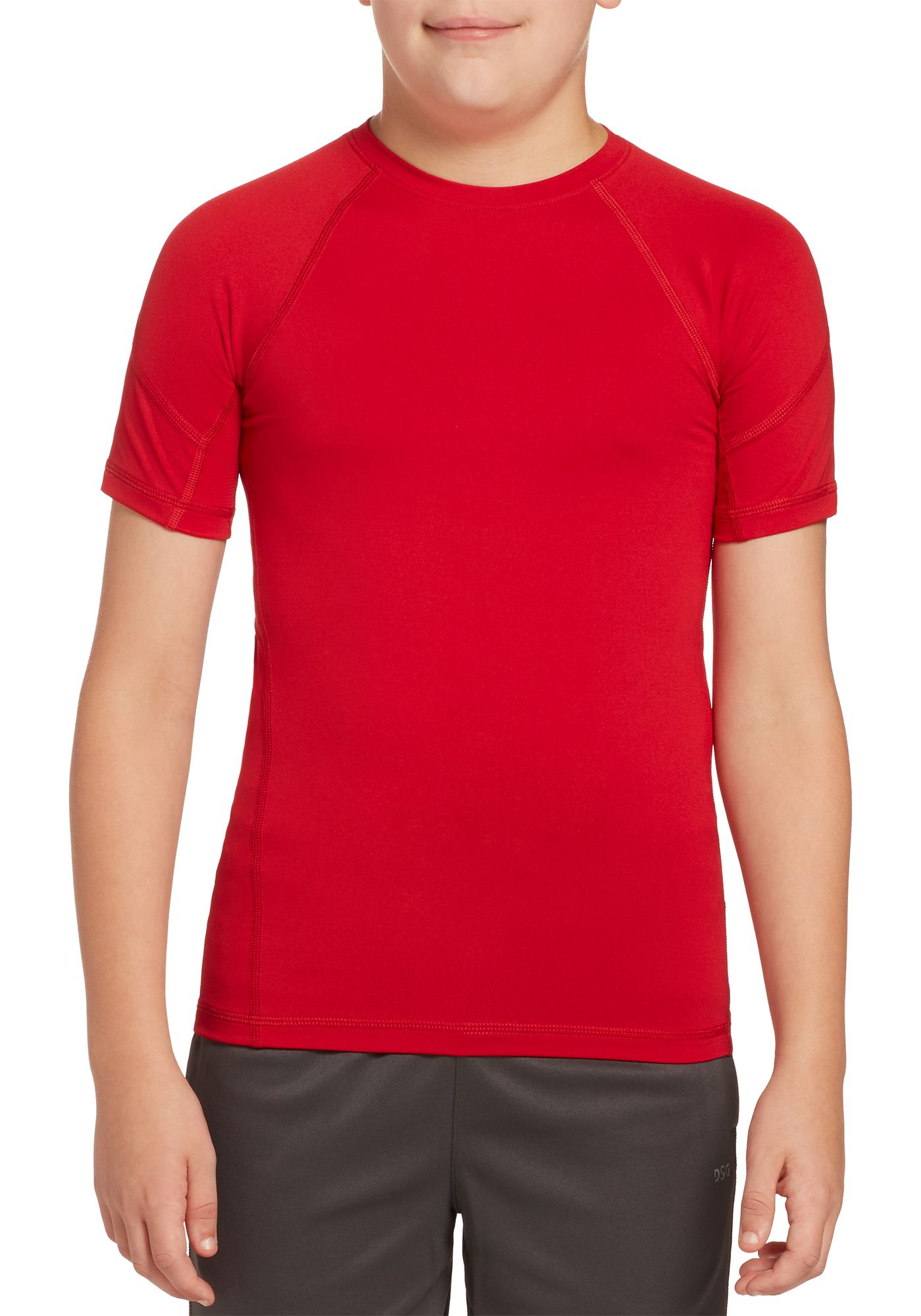 DSG Boys' Compression T-Shirt