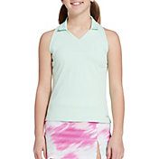 DSG Girls' Sleeveless Golf Polo