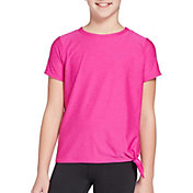 DSG Girls' Side Tie T-Shirt