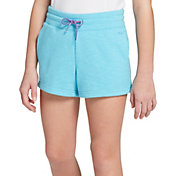 DSG Girls' Slub Cotton Fleece Shorts