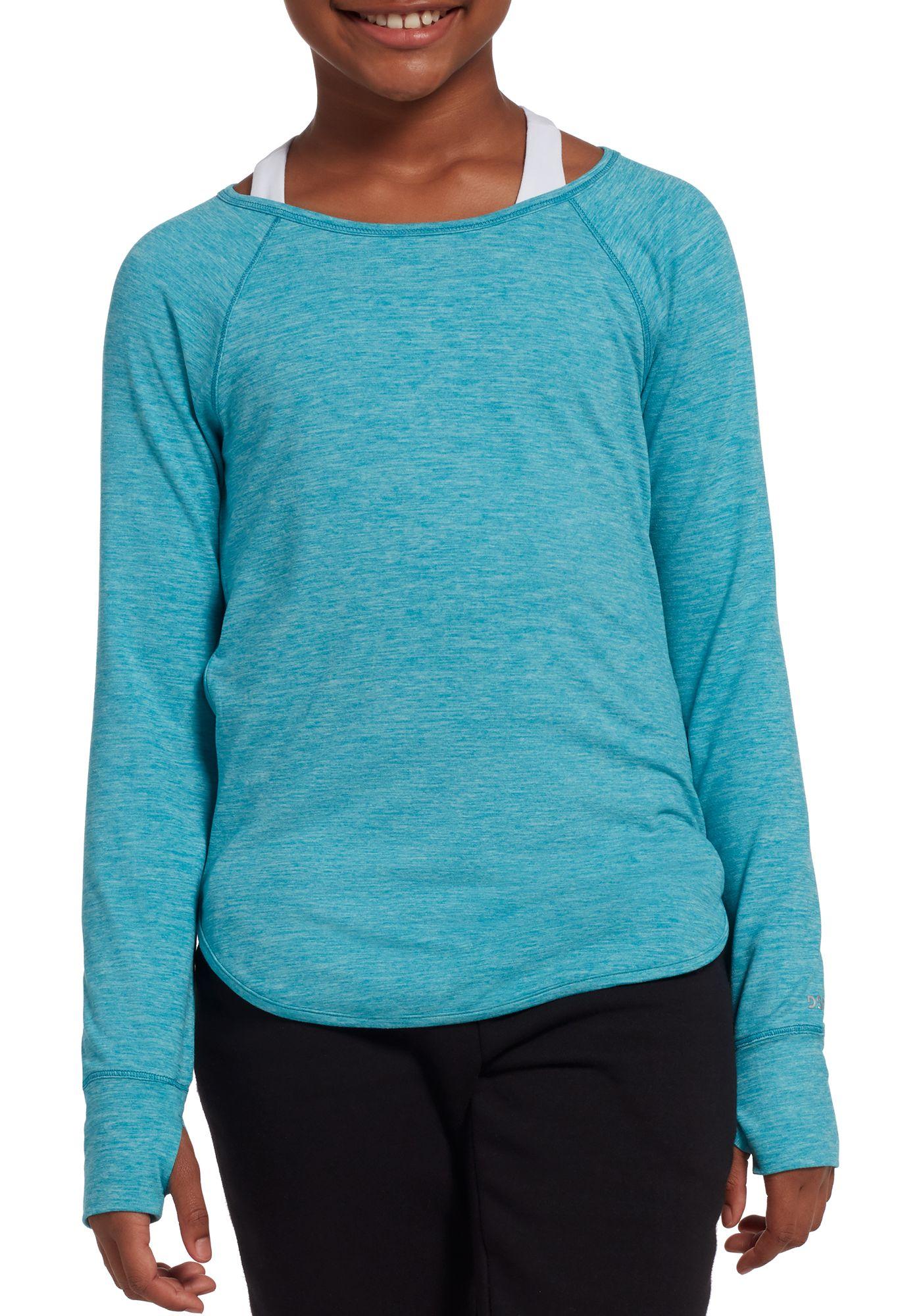 DSG Girls' Everyday Long Sleeve Shirt