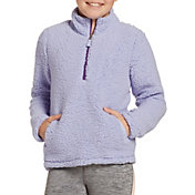 DSG Girls' Everyday Sherpa 1/2 Zip Sweatshirt