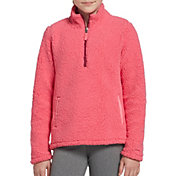 DSG Girls' Everyday Sherpa 1/2 Zip Sweatshirt