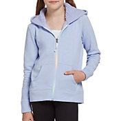 DSG Girls' Everyday Sherpa Full Zip Hoodie