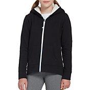 DSG Girls' Everyday Sherpa Full Zip Hoodie
